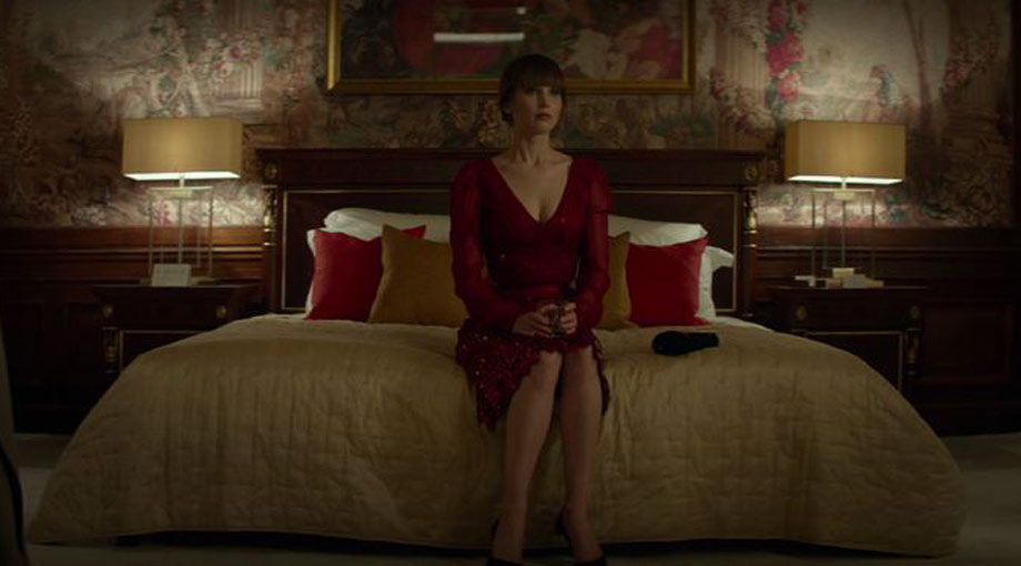 Jennifer Lawrence Embarks On A Forbidden Romance In 'Red Sparrow' Trailer