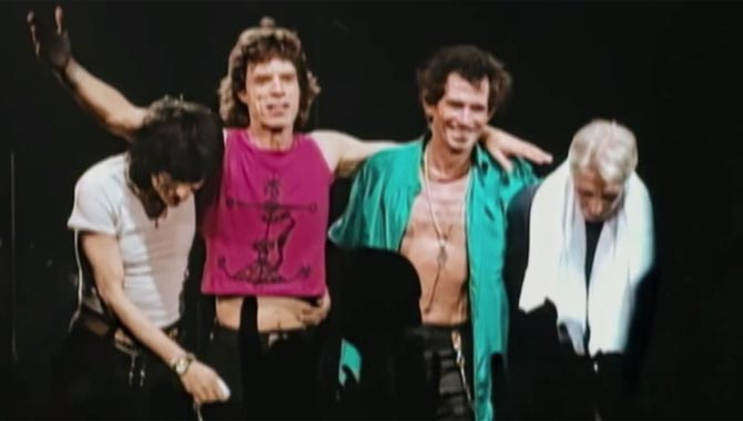 Rolling Stones Totally Stripped Trailer
