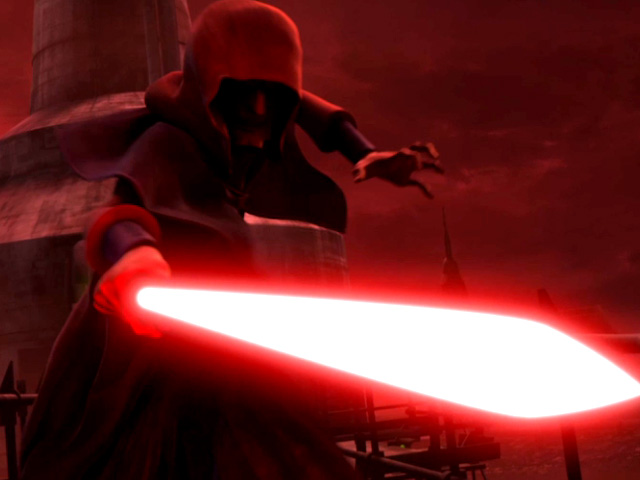 Star Wars: The Clone Wars - The Lost Mission - Battle With Darth Sidious Clip