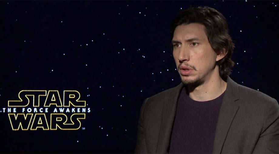 Adam Driver - Star Wars: Episode VII - The Force Awakens Interview