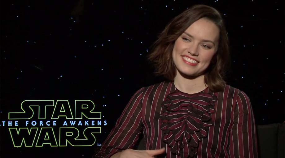 Daisy Ridley - Star Wars: Episode VII - The Force Awakens Interview