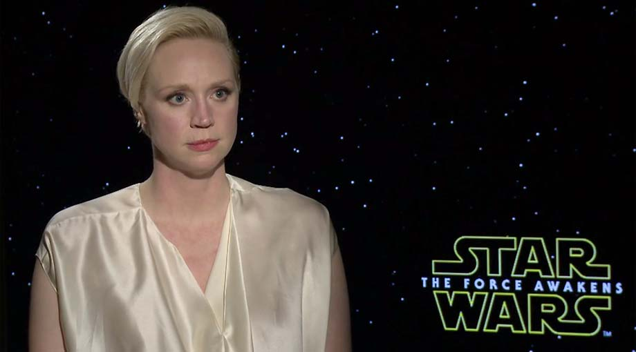Gwendoline Christie - Star Wars: Episode VII - The Force Awakens Interview