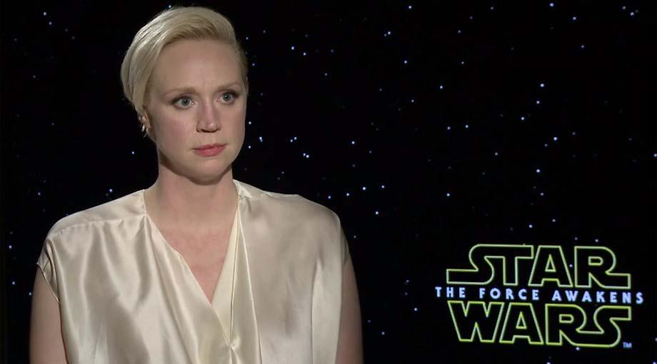 Gwendoline Christie - Star Wars: Episode VII - The Force Awakens Interview