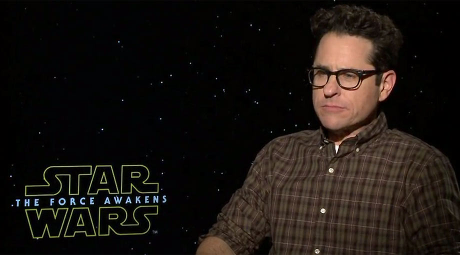 JJ Abrams - Star Wars: Episode VII - The Force Awakens Interview