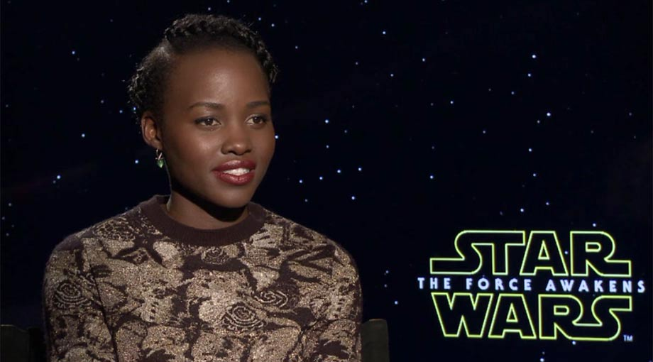 Lupita Nyong'o - Star Wars: Episode VII - The Force Awakens - Interview