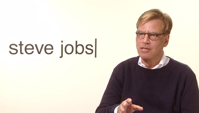 Aaron Sorkin - Steve Jobs Video Interview