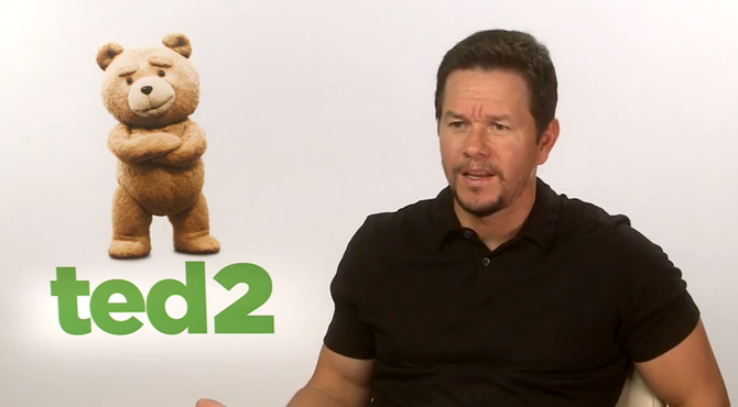 Mark Wahlberg - Ted 2 Video Interview