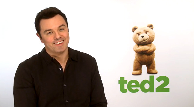Seth Macfarlane - Ted 2 Video Interview