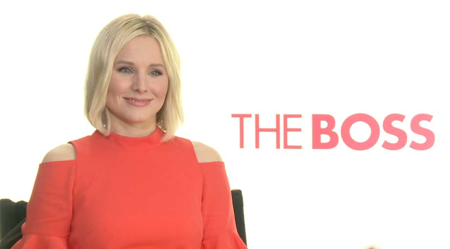 Kristen Bell - The Boss Video Interview