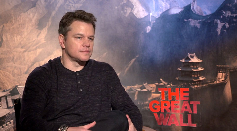 Matt Damon and Pedro Pascal Video Interviews