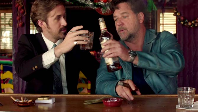 The Nice Guys - Green and Red Band Trailer