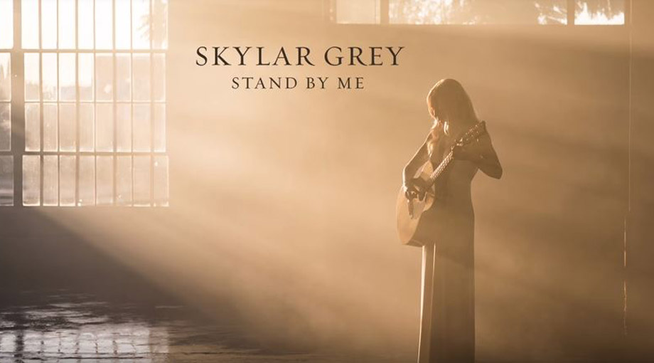 Skylar Grey - Stand By Me (Cover) Audio Video