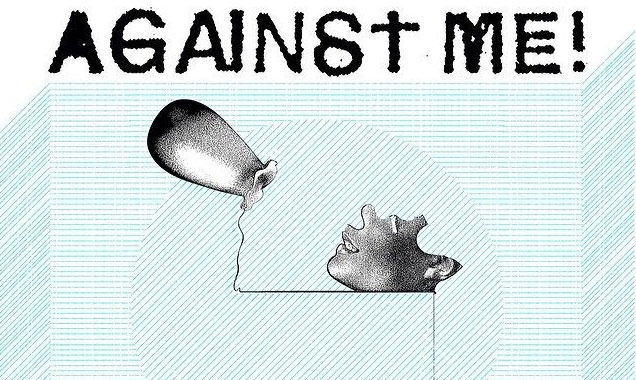 Against Me! Extend North American 2014 Spring Tour