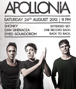 Apollonia Announce All-Night Takeover At Dc10 August 24th 2013