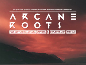 Arcane Roots Announce Both A European And A Uk Headline Tour In March And April 2014