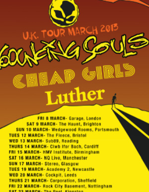 Bouncing Souls Announces Spring 2013 Tour Dates