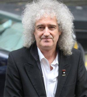 Queen Legend Brian May And Singing Sensation Kerry Ellis Re-Record Epic 'Born Free' Song