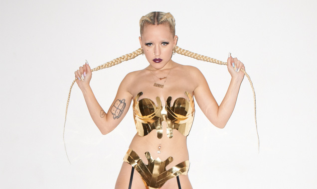 Dynamic Rapper/singer Brooke Candy Signs With Columbia Records The Opulence Ep Is Out May 5th 2014