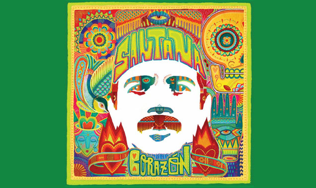 Carlos Santana And His Band Santana Will Be Releasing Their First Ever Latin Music Album 'Corazon' In The Us On May 6th 2014