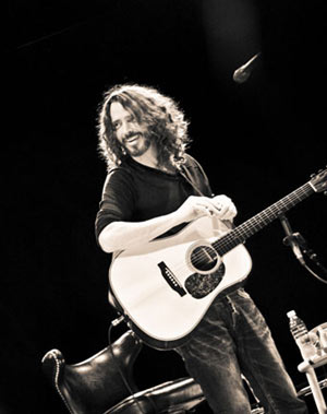 Chris Cornell Acoustic Album 'Songbook' Released November 21st 2011