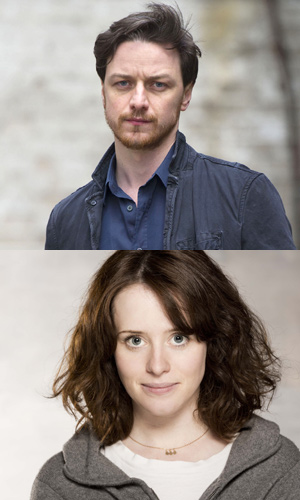 Claire Foy Announced As Lady Macbeth Also Starring James Mcavoy