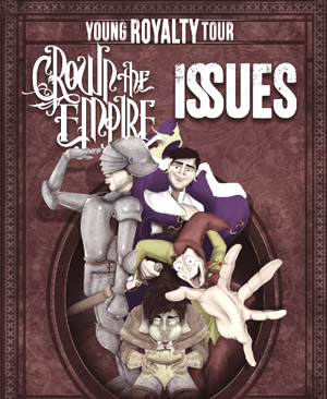 Crown The Empire And Issues Co-Headline Uk Tour This Autumn 2013