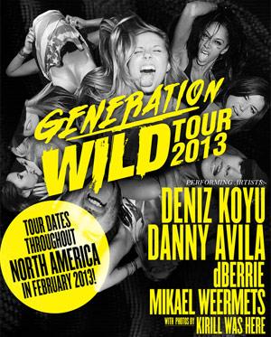 Danny Avila Announces Generation Wild Tour 2013
