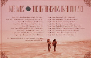 Date Palms' debut album 'The Dusted Sessions' is out now