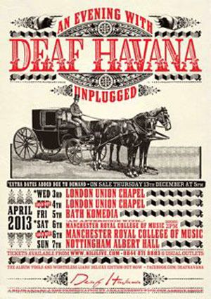 Deaf Havana Add Extra Dates To 'An Evening With' Tour In April 2013