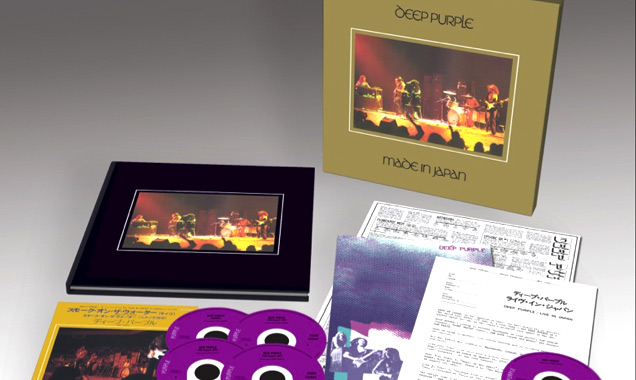 Universal Announce Deep Purple 'Made In Japan' Live Album In Multiple Formats Out 19th May 2014