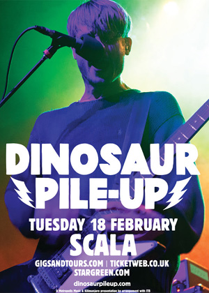 Dinosaur Pile-up's  New Single 'Peninsula' Will Be Exclusively Available At Scala, London On February 18th 2014