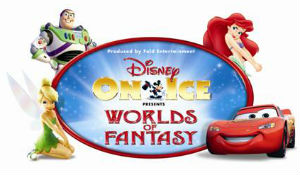 Disney On Ice presents 'Worlds of Fantasy' 13-16 March 2014
