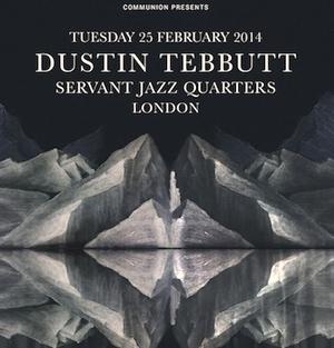 Dustin Tebbutt Announces Debut Early 2014 European Tour Dates