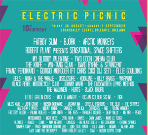 Electric Picnic 2013 New Acts, Two Door Cinema Club, Kodaline Plus Many More