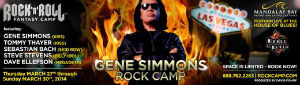 Gene Simmons and Rock 'n' Roll Fantasy Camp Team Up For 'Gene Simmons Rock Camp'