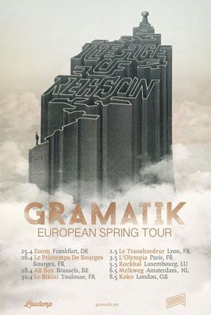 Gramatik Heads To Europe For 2014 Spring Tour