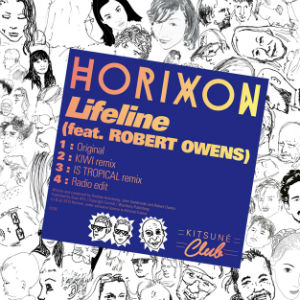 Horixon Announce Is Tropical Remix Of 'Lifeline' Feat. Robert Owens Out November 4th 2013