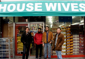 Housewives Announce Debut Self-Titled Ep, Out 9th December 2013 Plus 'Medicine Bottle' Free Download