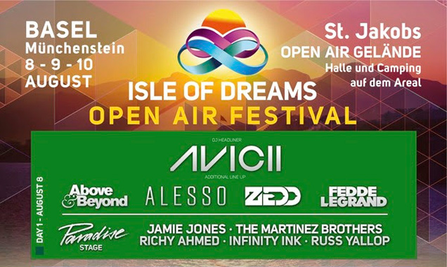 Isle Of Dreams 2014 Switzerland Moves To New Location In Basel