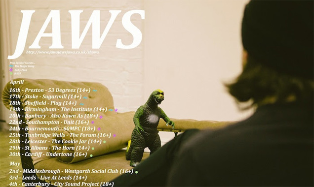 Jaws Announce April And May 2014 Uk Tour Dates