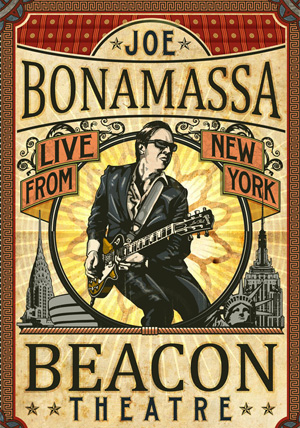 Joe Bonamassa Beacon Theatre Live From New York Blu-Ray & Dvd Out 26th March 2012