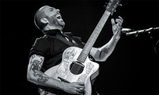 Jon Gomm On Home Soil For A Special Gig At Leeds' Holy Trinity Church 17th May 2014