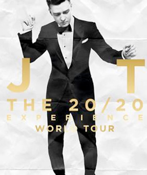 Justin Timberlake Announces The 20/20 Experience World Tour Uk And European Expansion Starting March 30th 2013