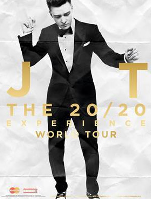 Justin Timberlake Announces A Third Concert At The O2 On The 20/20 Experience World Tour