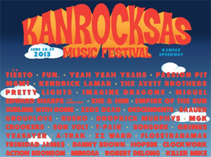 Kanrocksas Music Festival 2013 Announces Complete Talent Line-up