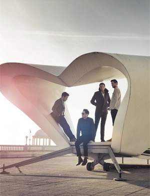 Keane Announce Their New Single 'Silenced By The Night' Out On 30th April 2012