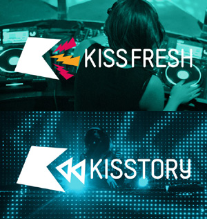 Kiss Launches 2 New Stations! Kissstory And Kissfresh, On May 2013