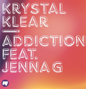Krystal Klear Announce New Single 'Addiction' Ft. Jenna G  Out 1st September 2013