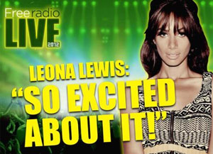 Leona Lewis Is The First Act To Be Announced For Free Radio Live 2012