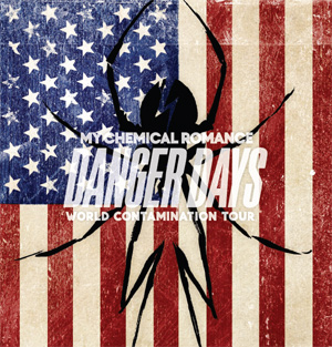 My Chemical Romance Announce Dates For Their 2011 The World Contamination Tour